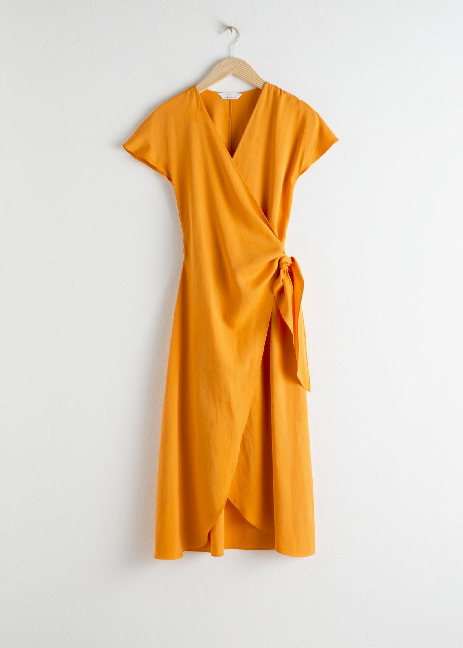 Kleid aus Tencel-/Leinengemisch